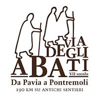 Abbot's Way logo - Via degli Abati credits: Via degli Abati