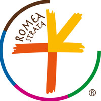 ROMEA STRATA LONGOBARDA NONANTOLANA WAY logo - Via Romea Strata Longobarda credits: Via Romea Strata Longobarda