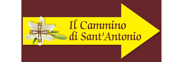 logo Chemin de Saint Antoine - Cammino di S.Antonio crédits: Cammino di S.Antonio