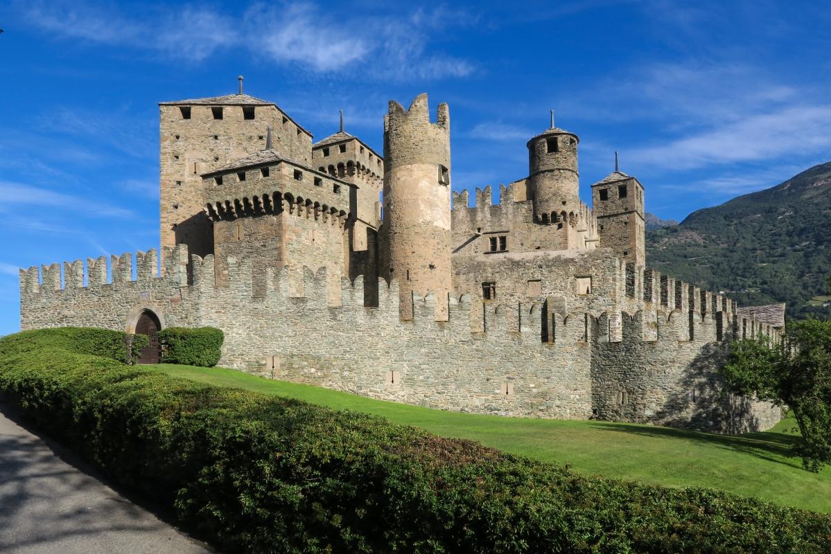 Fénis Castle - Archivio Regione Autonoma Valle d'Aosta
