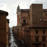 Bologna. Cattedrale di San Pietro dalla Galleria Vidoniana by Raffacossa