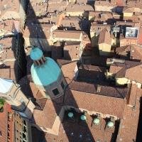 Chiesa Di Santa Maria Della Vita - visuale dall'alto della Torre degli Asinelli by G1G4BREAK