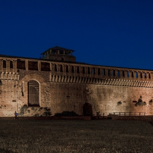 Rocca Sforzesca - Veduta frontale Rocca Sforzesca di Imola foto di: |Massimo Saviotti| - Wiki Media Commons
