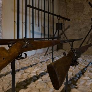 Rocca Sforzesca - Particolare collezione d'armi della Rocca Sforzesca foto di: |Caprini Cristina| - Associazione Tempo e Diaframma