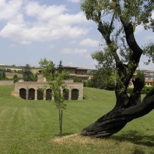 Castello del Capitano delle Artiglierie - Parco del castello foto di: |anonimo| - Archivio fotografico del castello