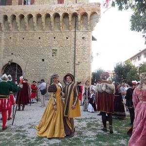 Castello del Capitano delle Artiglierie - Rievocazione storica foto di: |anonimo| - Archivio fotografico del castello