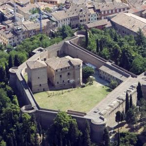 Rocca Malatestiana - Rocca malatestiana Cesena- foto aerea foto di: |Michele Buda| - Archivio Uff. Prom.Turistica Comune di Cesena
