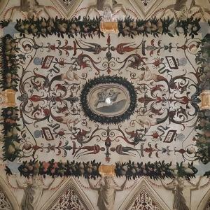 Castello Malatestiano di Longiano - Affreschi a grottesche del XVI Secolo foto di: |Flaminio Balestra| - Archivio Fondazione