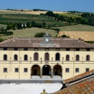 Fortezza di Terra del Sole - Palazzo Pretorio e panorama foto di: |Battistini| - Pro loco