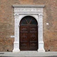 Palazzo schifanoia, ext., portale minore - Sailko