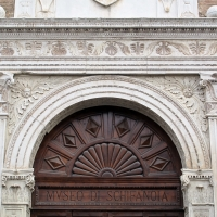 Palazzo schifanoia, ext., portale maggiore 04 - Sailko