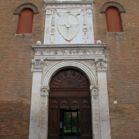Palazzo schifanoia, ext., portale maggiore 02 - Sailko