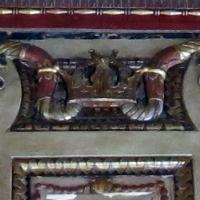 Palazzo schifanoia, sala degli stucchi o delle virtù, di domenico di paris e buongiovanni da geminiano (1467) 46 - Sailko