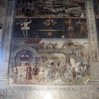 Palazzo schifanoia, salone dei mesi, 10 settembre (ercole de' roberti) 01 - Sailko