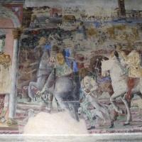 Palazzo schifanoia, salone dei mesi, 06 giugno (maestro dagli occhi spalancati), borso ascolta una supplica 03 - Sailko
