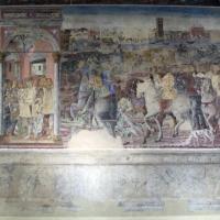 Palazzo schifanoia, salone dei mesi, 06 giugno (maestro dagli occhi spalancati), borso ascolta una supplica 01 - Sailko