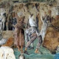 Palazzo schifanoia, salone dei mesi, 09 settembre (ercole de' roberti), borso in parata 04 4 - Sailko