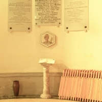 Santuario della Madonna della Celletta. lapide dedicatoria by |Samaritani|