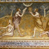 Abbazia di Pomposa. Affreschi con episodi dell'Antico Testamento by sconosciuto