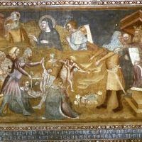 Abbazia di Pomposa. Affreschi con storie del Nuovo Testamento by sconosciuto