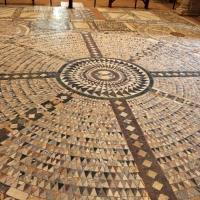 Pomposa, abbazia, interno, pavimento 01 by Sailko