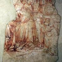Scuola veronese, madonna col bambino, dal palazzo della ragione di pomposa, 1390 ca., sinopia by Sailko