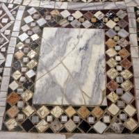 Pomposa, abbazia, interno, pavimento 06 by Sailko