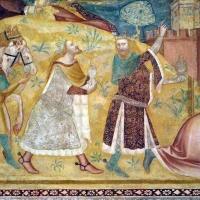 Scuola bolognese, ciclo dell'abbazia di pomposa, 1350 ca., nuovo testamento, 03 adorazione dei magi 2 photo by Sailko