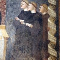 Pomposa, abbazia, refettorio, affreschi giotteschi riminesi del 1316-20, miracolo dell'abate guido strambiati 06 by Sailko