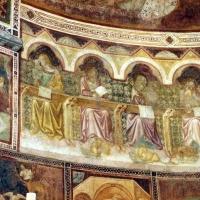 Vitale da bologna e aiuti, cristo in maestà, angeli, santi e storie di s. eustachio, 1351, 14 by Sailko