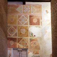 Scuola riminese, affreschi geometrici con bustini di santi, 1350-1400 ca. , 07 by Sailko