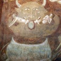 Scuola bolognese, ciclo dell'abbazia di pomposa, 1350 ca., giudizio universale, inferno 03 diavolo by Sailko