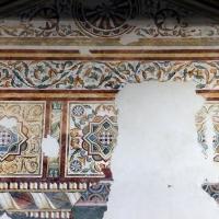Pomposa, abbazia, refettorio, affreschi giotteschi riminesi del 1316-20, ornati 02 by  Sailko 