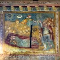 Scuola bolognese, ciclo dell'abbazia di pomposa, 1350 ca., vecchio testamento, 08 sogno di nabucodonosor foto di Sailko