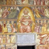 Scuola bolognese, ciclo dell'abbazia di pomposa, 1350 ca., giudizio universale, cristo giudice 01 by Sailko