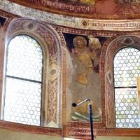 Vitale da bologna e aiuti, cristo in maestà, angeli, santi e storie di s. eustachio, 1351, 16 by Sailko