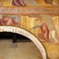 Scuola bolognese, ciclo dell'abbazia di pomposa, 1350 ca., apocalisse, 07 consegna del libro 2 by Sailko