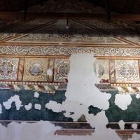 Pomposa, abbazia, refettorio, affreschi giotteschi riminesi del 1316-20, ornati 01 by Sailko