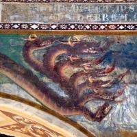 Scuola bolognese, ciclo dell'abbazia di pomposa, 1350 ca., apocalisse, 09 drago 2 by Sailko