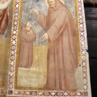 Scuola bolognese, ciclo dell'abbazia di pomposa, 1350 ca., giudizio universale, monaci by Sailko