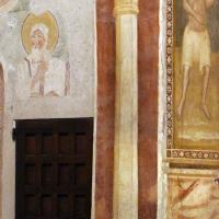 Scuola bolognese, ciclo dell'abbazia di pomposa, 1350 ca., giudizio universale, colonna dipinta foto di Sailko