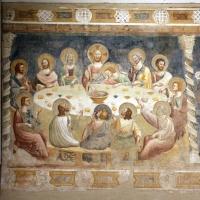 Pomposa, abbazia, refettorio, affreschi giotteschi riminesi del 1316-20, ultima cena 01 by Sailko