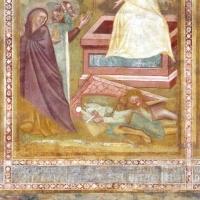 Scuola bolognese, ciclo dell'abbazia di pomposa, 1350 ca., nuovo testamento, 16 pie donne al sepolcro by Sailko