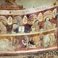 Vitale da bologna e aiuti, cristo in maestà, angeli, santi e storie di s. eustachio, 1351, 17 by Sailko