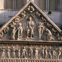 """Cattedrale. Particolare del """"Giudizio universale"""" foto di samaritani"""
