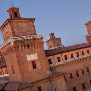 Castello Estense - CastellO estense - Torre dei Leoni foto di: |ignoto| - fonte interna