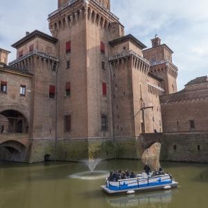Castello Estense - Pontone mobile foto di: |Le Immagini| - fonte interna