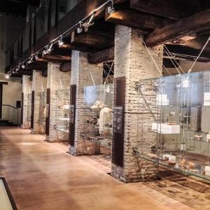 Delizia di Belriguardo - Sezione Archeologica del Museo Civico di Belriguardo foto di: |Alessandro Boninsegna| - archivio dell'autore