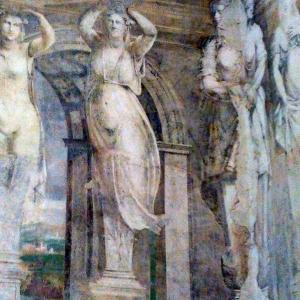 Delizia di Belriguardo - Affreschi della Sala della Vigna (1537) foto di: |Alessandro Boninsegna| - archivio dell'autore