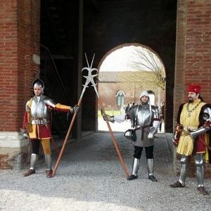 Delizia di Belriguardo - Armati della Contrada di S. Giorgio a Belriguardo foto di: |Alessandro Boninsegna| - Archivio fotografico del castello